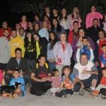 Foto dels participants de l'excursió nocturna